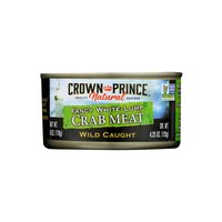 Crown Prince Fancy Crab Meat, 6 Oz, 6 Ounce