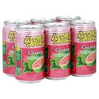 Aloha Maid Guava Nectar, Cans (Pack of 6), 11.5 Ounce