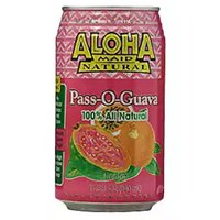 Aloha Maid Pass-O-Guava Juice, Cans (Pack of 6), 11.5 Ounce