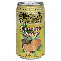 Aloha Maid Pineapple Orange, Cans (Pack of 6), 11.5 Ounce
