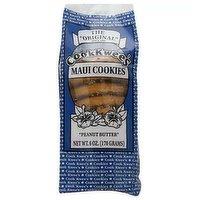 Cookkwees Maui Peanut Butter Cookies, 6 Oz, 6 Ounce