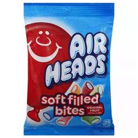 Airheads Soft Filled Bites, Original Fruit Flavored, 6 Ounce