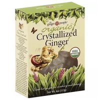 Ginger People Organic Crystalized Ginger, 4 Ounce