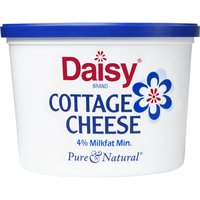 Daisy Cottage Cheese, 4% Low<li>fat, 16 Ounce