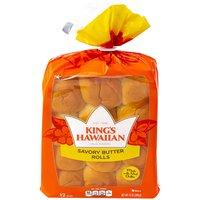King's Hawaiian Savory Butter Rolls, 12 Ounce