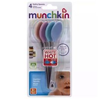 Munchkin Safety Metal Spoons, Pack of 4, 1 Each