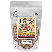 Hawaii's Local Buzz Macadamia Nuts, Sweet Smoky, 10 Ounce