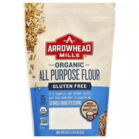 Arrowhead Mills Organic All Purpose Flour, Gluten Free, 20 Ounce