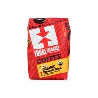 Equal Exchange Coffee, Drip Grind, Medium & French Roast, Breakfast Blend, 12 Ounce