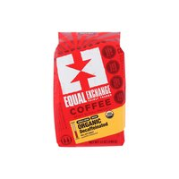 Equal Exchange Organic Coffee, Decaf Whole Bean, 12 Ounce