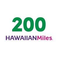 200 HawaiianMiles, 1 Each