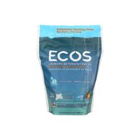 Ecos Lndry Pods Free & Clear, 17.98 Ounce