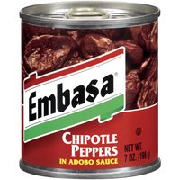 Embasa Chipotle Peppers In Adobo Sauce, 7 Ounce