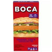 Boca Original Chik'n Vegan Patties, 10 Ounce