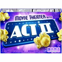 Act II Microwave Theater Popcorn, 8.25 Ounce