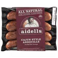 Aidells Pork Sausage, Cajun Style, Andouille, 12 Ounce