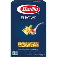 Barilla Pasta, Elbows, 16 Ounce