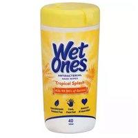 Wet Ones Antibacterial Wipes, Citrus Scent, 40 Each