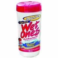 Wet Ones Antibacterial Hand Wipes Fresh Scent, 40 Each
