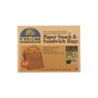 If You Care Paper Snack & Sandwich Bag, 48 Foot