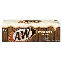 A&W Root Beer, Cans (Pack of 12), 12 Ounce