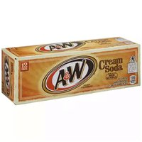 A&W Cream Soda, Cans (Pack of 12), 12 Ounce