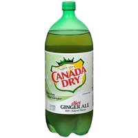 Canada Dry Diet Ginger Ale, 2 Litre