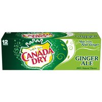 Canada Dry Ginger Ale, Cans (Pack of 12), 12 Ounce