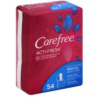 Carefree Acti-Fresh Pantiliners, Unscented, 54 Each