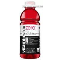 Glaceau Vitaminwater Zero, XXX, 20 Ounce