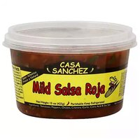 Casa Sanchez Roja, Mild Salsa, 15 Ounce