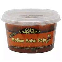 Casa Sanchez  Roja Salsa, Medium, 15 Ounce