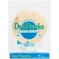 Don Pancho White Corn Tortillas, 16 Ounce