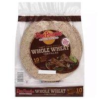 Don Pancho Tortillas, Whole Wheat, 16 Ounce