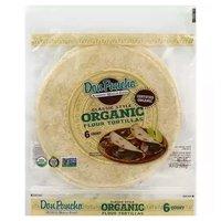 """Don Poncho Organic Flour Tortilla, 10"""", 14.4 Ounce"""