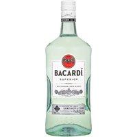 Bacardi Rum, Light, 1.75 Litre
