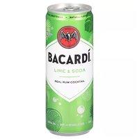 Bacardi Lime & Soda, 335 Millilitre