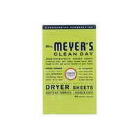 Mrs. Meyer's Clean Day Dryer Sheets, Lemon Verbena, 80 Each