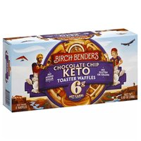 Birch Benders Keto Toaster Waffles, Chocolate Chip, 5.08 Ounce