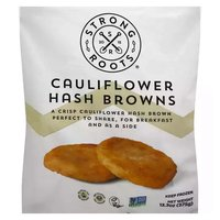Strong Roots Cauliflower Hash Browns, 13.3 Ounce