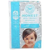 The Honest Company Pandas Diapers, Size 2, 32 Each