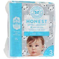 The Honest Company Diapers Pandas Size 3, 27 Each