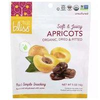 Fruit Bliss Organic Turkish Apricots, 5 Ounce