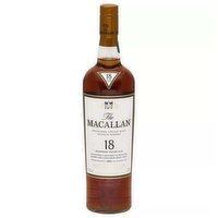 Macallan 18yr Scotch, 750 Millilitre