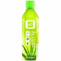 Alo Aloe Vera Drink, Allure Mangosteen & Mango, 16.9 Ounce