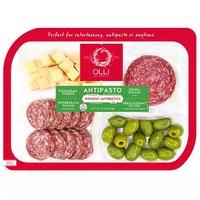 Olli Frescatrano Olives Parmesan Sopressata, 12 Ounce