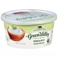 Green Valley Organics Sour Cream, 12 Ounce