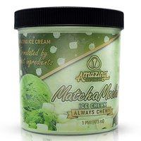 Amazing Ice Cream, Matcha Mochi, 16 Ounce