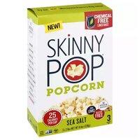 Skinny Sea Salt Pop Popcorn, 2.8 Ounce