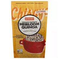 Alter Eco Organic Rainbow Heirloom Quinoa, 12 Ounce